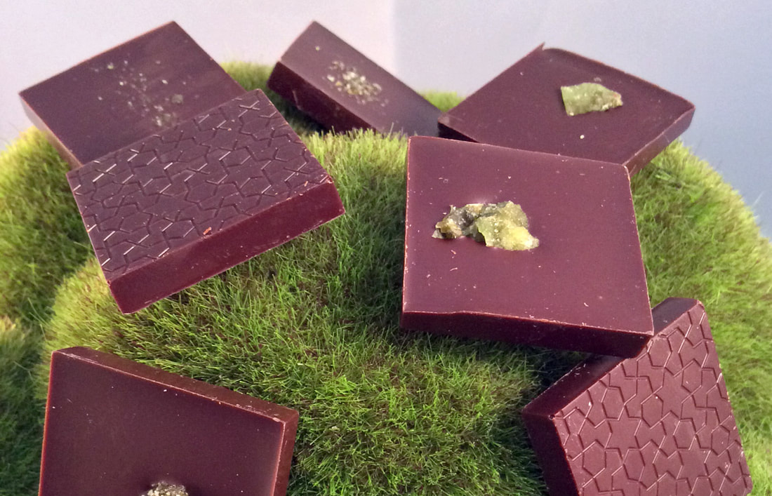Multiple Milk Chocolate Mint Tiles